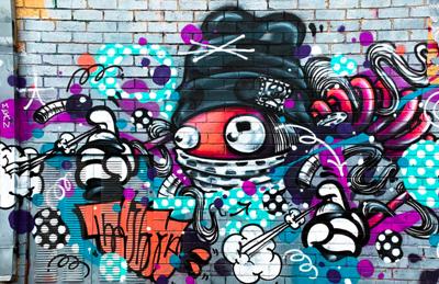 Urban culture - graffiti